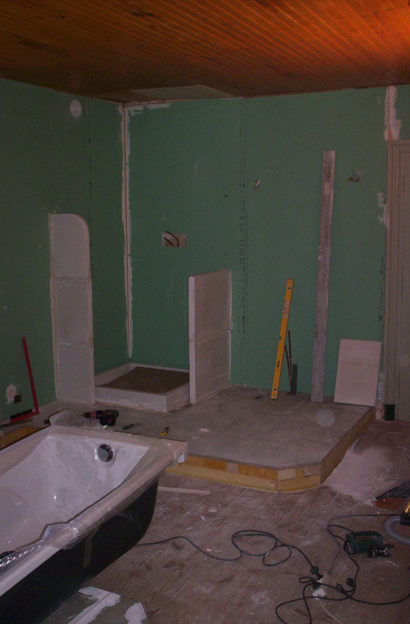 Créer Une Salle De Bain À L Étage rochebeuf rénovation